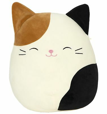 """Kellytoy Squishmallow 8"""" Cam the Cat Super Soft Plush Toy"""