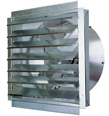 24 Industrial Exhaust Fan Maxxair Heavy Duty Barn Greenhouse Kitchen Vent