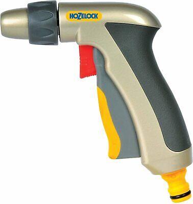 Hozelock Jet Plus Spray Gun Metal for Hose Pipes - Multi Pattern & Flow