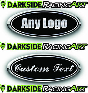 FORD F150 3PC KIT FORD CUSTOM EMBLEM DECAL/STICKER LOGO OVERLAY PRINTED DECALS