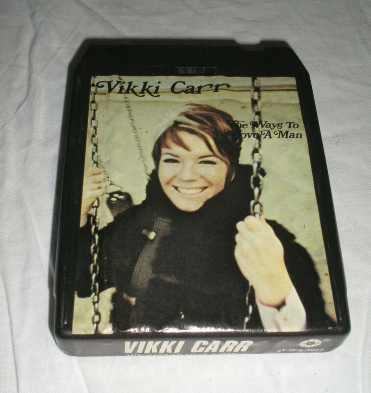 Vikki Carr - The Ways To Love A Man - 8 Eight Track Tape