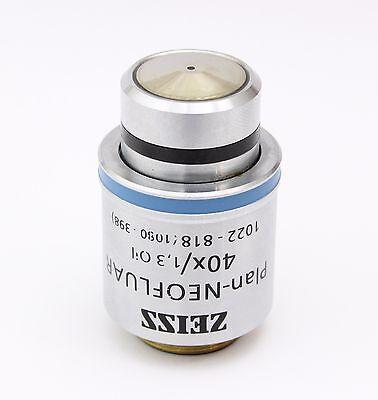 Zeiss Plan Neofluar 40x 1.30 Oil Microscope Objective 1022 - 818 1080 - 398