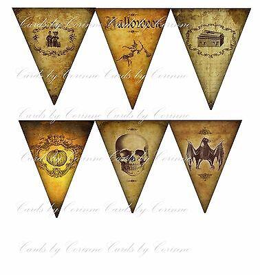 Halloween banner party decoration skeleton party supplies (Halloween Party Banners)