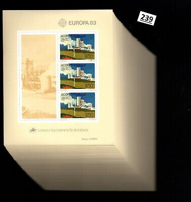 # 100X PORTUGAL - MNH - EUROPA CEPT 1983 - ARCHITECTURE - WHOLESALE