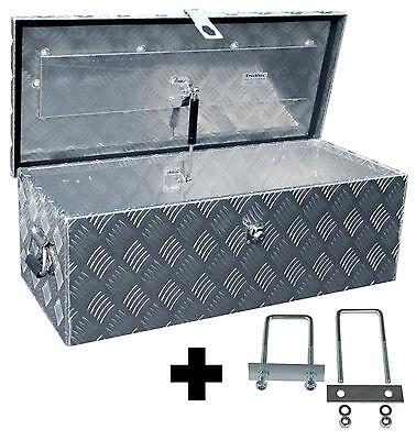 Truckbox D055 inkl. Montagesatz MON4002, Deichselbox, Deichselkasten, Alukasten