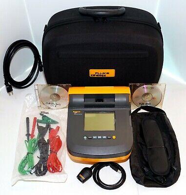Fluke 1550c Kit Insulation Resistance Tester Megger 5 Kv Megohmmeter Case New