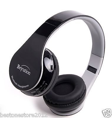 Best HiFi Bluetooth Headphones for all Smart cell phones built in Mic talk (Best Bluetooth Headphones For Cell Phones)