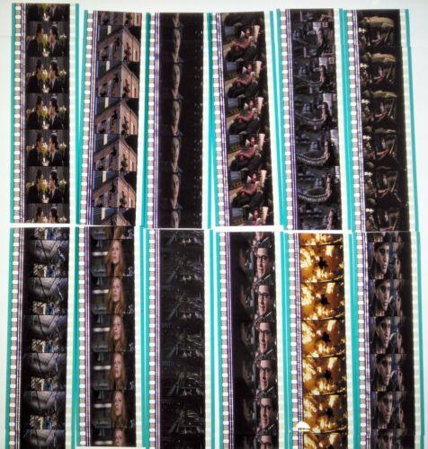Spider-Man 2 (2004) Movie 60 x 35mm Film Cells 12 Strips Frames Marvel Cine (A)
