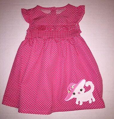 Gymboree Marie Kitten Pink Dress 18-24 Months