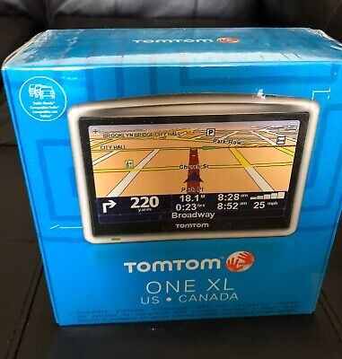 """TomTom ONE XL - GPS Navigation System w/4.3"""" Diag. Screen -  US * CANADA"""