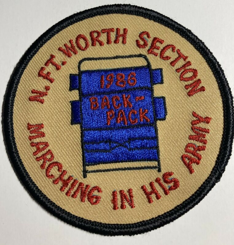 Royal Rangers Patch 1986 N Ft Worth Section Marching In His Army