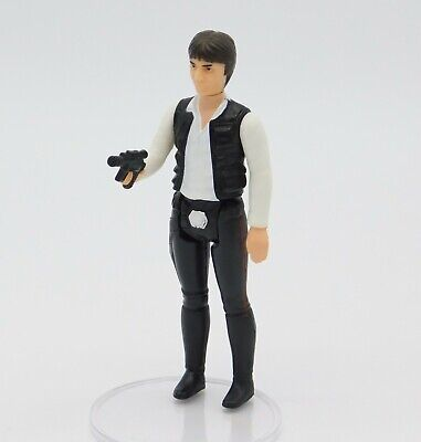 Vintage Star Wars Han Solo Big Head action figure complete original KENNER 1977