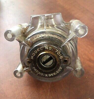 Cole Parmer No. 7016 Masterflex Peristaltic Pump Head