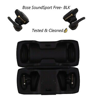 Bose SoundSport Free Wireless In-Ear Headphones Black Used Good🔥