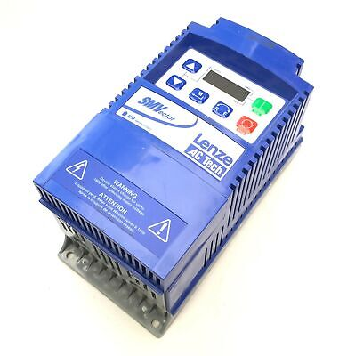 Lenze Esv371n01sxb Vfd Variable Frequency Inverter Drive 120v 1ph 230v 3ph .5hp