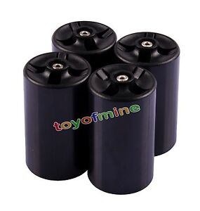 4-Pcs-New-Cell-Battery-Adaptor-Converter-Case-AA-to-D-Size-Battery-Holder-Case