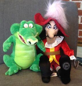 Peter Pan's Captain Hook & Tick Tock Croc Disney Store