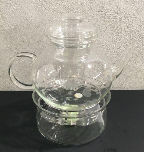 Princess House HERITAGE Tea Pot - Complete - 5 Pieces - MARKDOWN