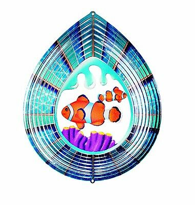 Outdoor Active Clown fish Wind spinner, New, RRP £15