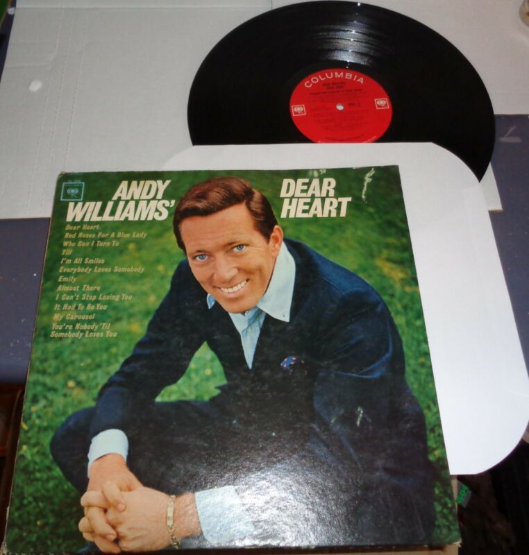 Andy Williams Columbia CL-2338 LP Dear Heart