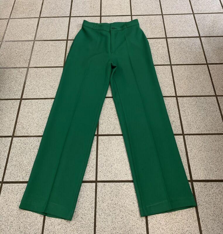Vintage Levis Dress Pants Womens Bend Over 30 X 31 Green Slacks NEW 1970s Sz 12