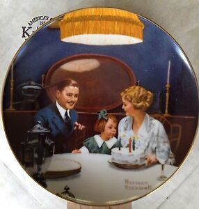 Bradford Exchange Norman Rockwell Collector Plates Strathcona County Edmonton Area image 6