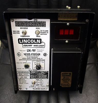Lincoln Ln-9f Wire Feeder Wire Drive Flux Hopper Control Cables - Unused