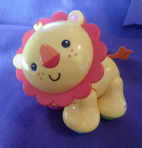 Fisher Price LION Amazing Animal Clicker Toy