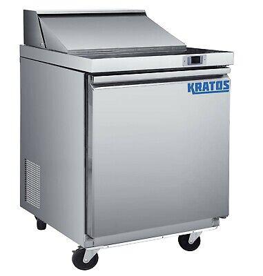 Kratos Refrigeration 69k-769 29w Sandwichsalad Prep Table