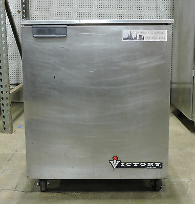 Victory Uf-27-sst Commercial Undercounter 1 Door Freezer