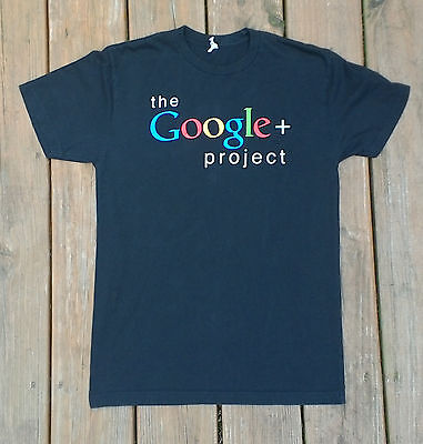 Graphic Tee T Shirt Womens Size Small The Google  Plus Project Excellent