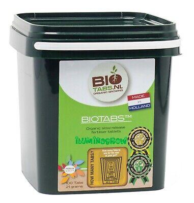 BioTabs 100 Tabletas Para Tierra Y Coco Abono Fertilizante Organico Bio Tabs