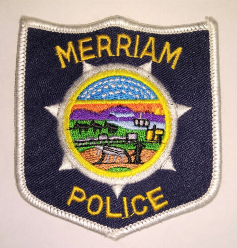 Merriam Kansas Police Patch - Old & Obsolete // FREE US SHIPPING!