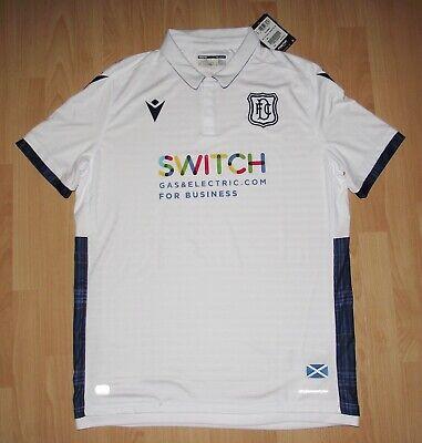 Stunning Dundee FC Tartan Away Football Shirt Tartan Trim 2019/20 XL BNWT image