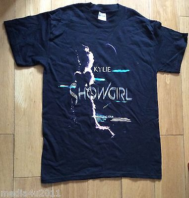KYLIE MINOGUE SHOWGIRL HOMECOMING TOUR CONCERT AUSTRALIA & UK T SHIRT LARGE NEW