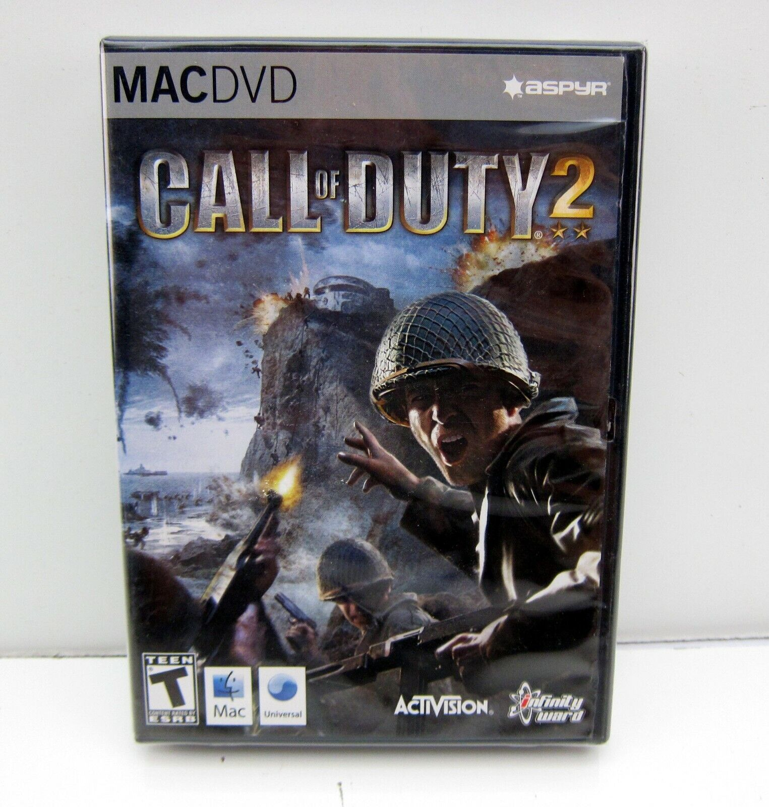 Computer Games - NEW CALL OF DUTY 2 Video Game Computer Apple Mac DVD-ROM Sealed Activision