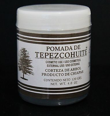 Pomada De Tepezcohuite (Bark Tree) 4oz For Burns, Improve Stretch Marks
