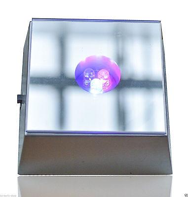 Leuchte Untersetzer 3D Kristaldekoration Sockel - 3LEDs