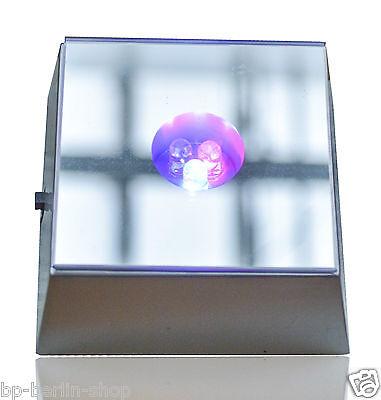Leuchte Untersetzer 3D Kristaldekoration Sockel  3LEDs /Spiegel