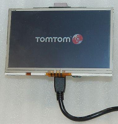 "TomTom Xl 330s Gps 4.3"" Lcd Screen +digitizer Lms430hf19-..."