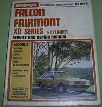 WORKSHOP MANUAL - FALCON / FAIRMONT XD SERIES Bridgeman Downs Brisbane North East Preview