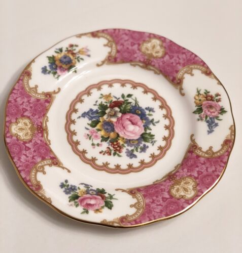 """Royal Albert Lady Carlyle 6.25"""" Bone China Bread & Butter Plate"""