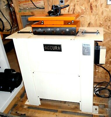Accura 04020f Pittsburg Lock Forming Machine Seamer W Top Mount Flanger