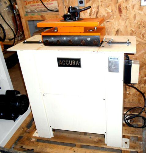ACCURA 04020F PITTSBURG LOCK FORMING MACHINE SEAMER  W