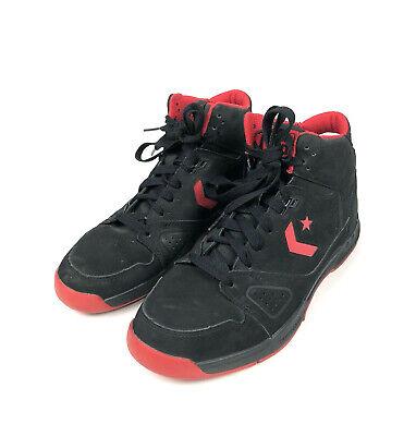 Converse Evo Basketball Sneakers Men's Size 10 Drop Step Mid Black Varsity Evo Mid Sneaker