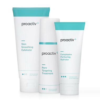 Brand New Proactiv+ 3 Step Acne Treatment System, 90 Day