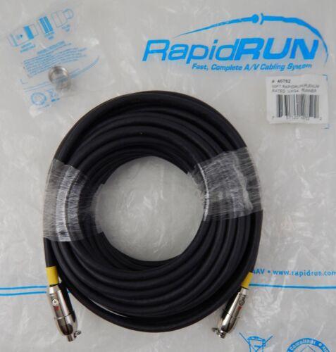 RapidRun 40752 50FT Plenum Rated UXGA Runner Cable Type CMP - NEW