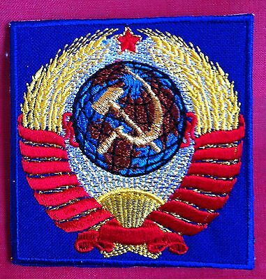 Patch:Soviet Union Russian Olympic Team,USSR CCCP State Coat of Arms Russia,New