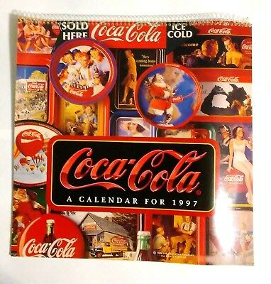 Coca Cola Calendar--Coca Cola Vintage Ads  1997 (Opened-Unused)