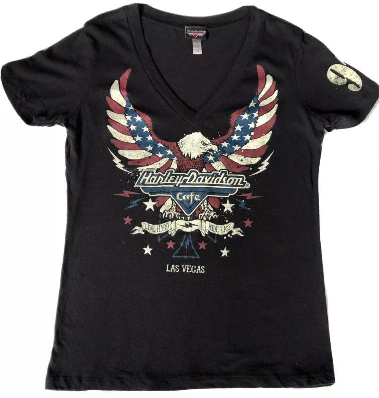 HARLEY DAVIDSON Shirt Woman's XXL Las Vegas